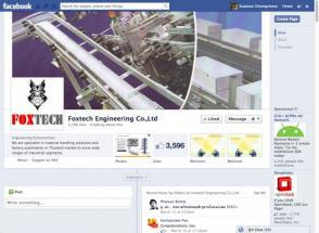 เฟซบุค FOX-TECH Engineering Thailand